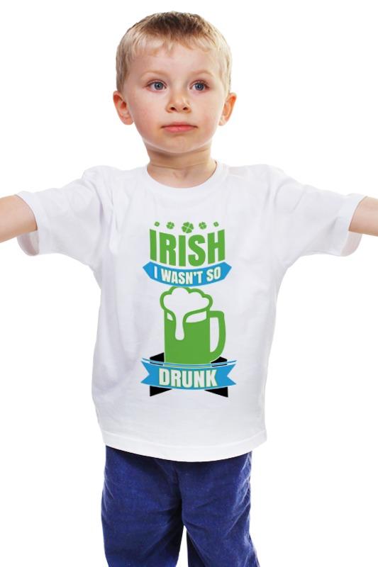 Детская футболка классическая унисекс Printio Ирландец детская футболка классическая унисекс printio мачете