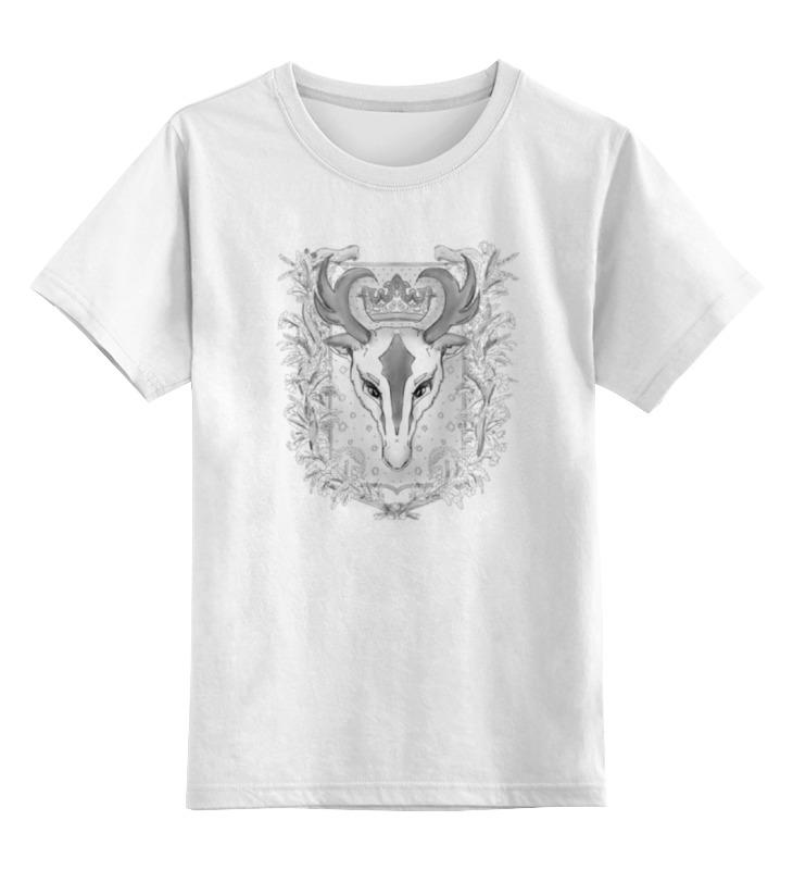 Детская футболка классическая унисекс Printio Олень тотем футболка для беременных printio олень тотем