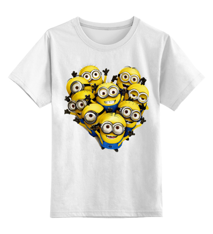Детская футболка классическая унисекс Printio Миньоны детская футболка классическая унисекс printio слоник