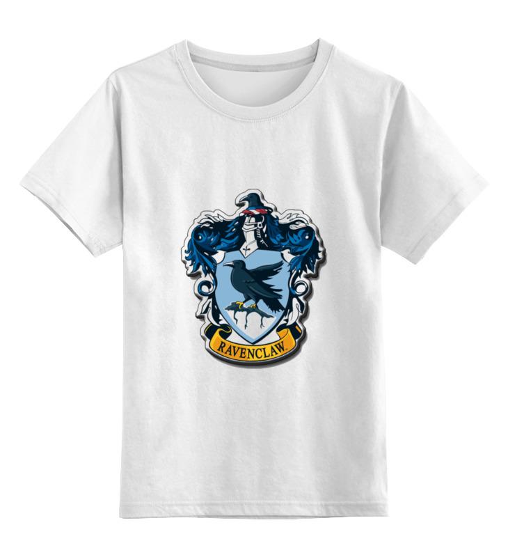 Детская футболка классическая унисекс Printio Гарри поттер ravenclaw плакат a2 42x59 printio драко малфой
