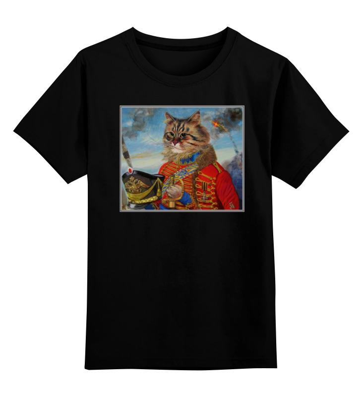 Детская футболка классическая унисекс Printio Animal art