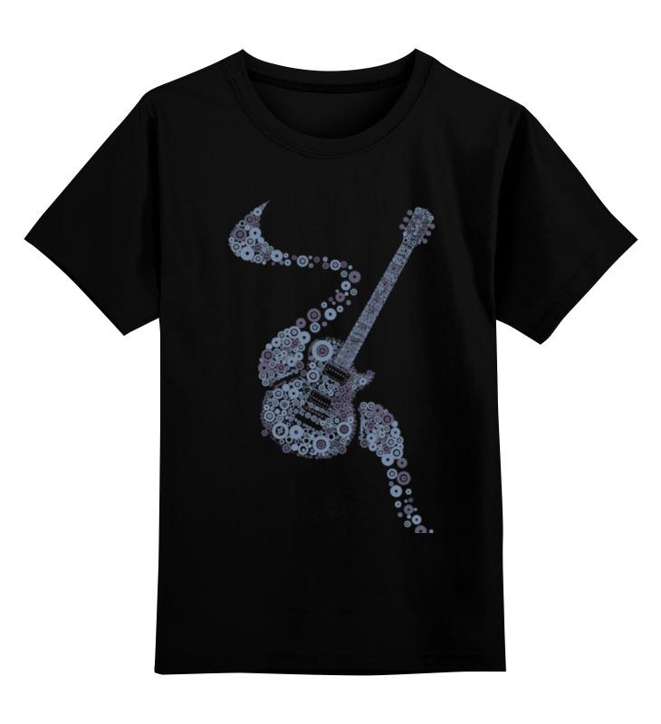 Детская футболка классическая унисекс Printio Гитара гитара классическая 3 4 в москве