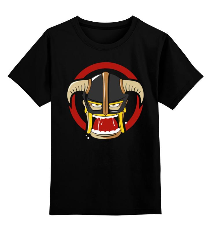 Детская футболка классическая унисекс Printio Варвар(clash of clans)