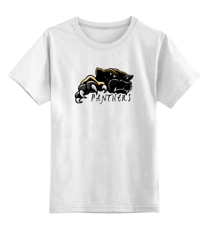 Детская футболка классическая унисекс Printio Черная пантера детская футболка классическая унисекс printio розовая пантера