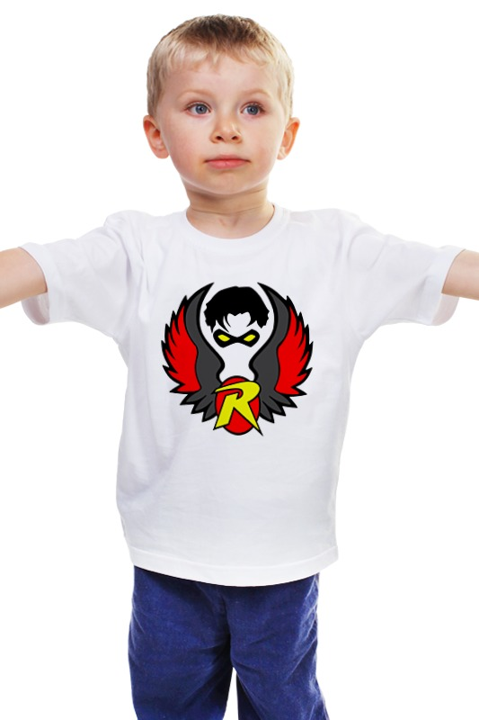 Детская футболка классическая унисекс Printio Робин (бэтмен) детская футболка классическая унисекс printio бэтмен и робин