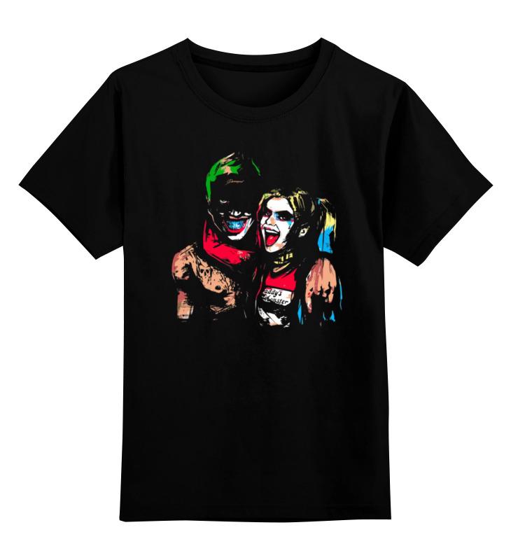 Детская футболка классическая унисекс Printio Джокер и харли квинн (бэтмен) футболка харли квинн