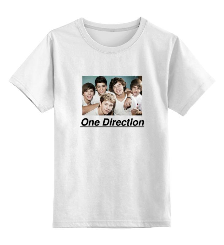 Детская футболка классическая унисекс Printio One direction one direction where we are 100