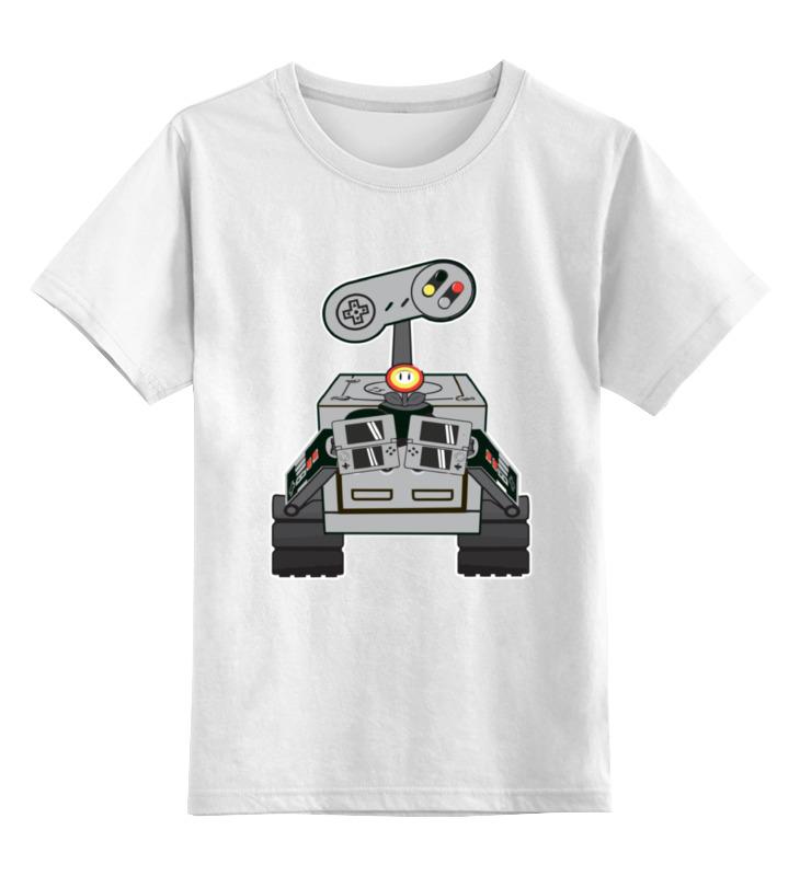 Детская футболка классическая унисекс Printio Валл-и валл и ds
