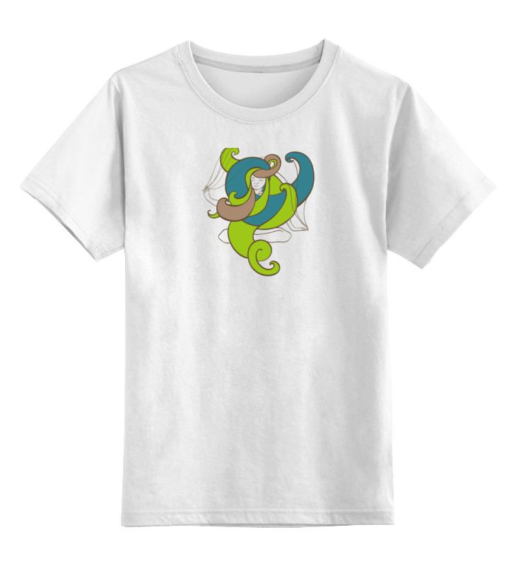 Детская футболка классическая унисекс Printio Йога девушка детская футболка классическая унисекс printio девушка