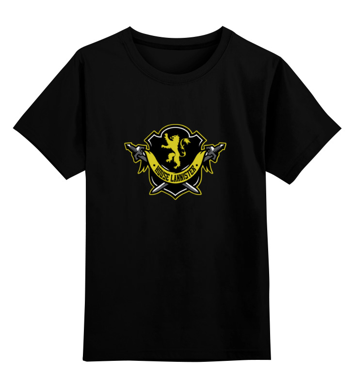 Детская футболка классическая унисекс Printio House lannister teak house стол консольный britt