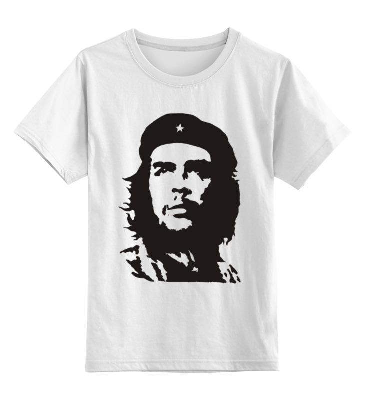 Детская футболка классическая унисекс Printio Че гевара фрессанж инес де ла парижанка