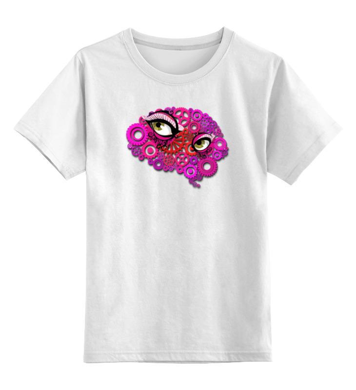 Детская футболка классическая унисекс Printio Электронный мозг футболка классическая printio электронный мозг