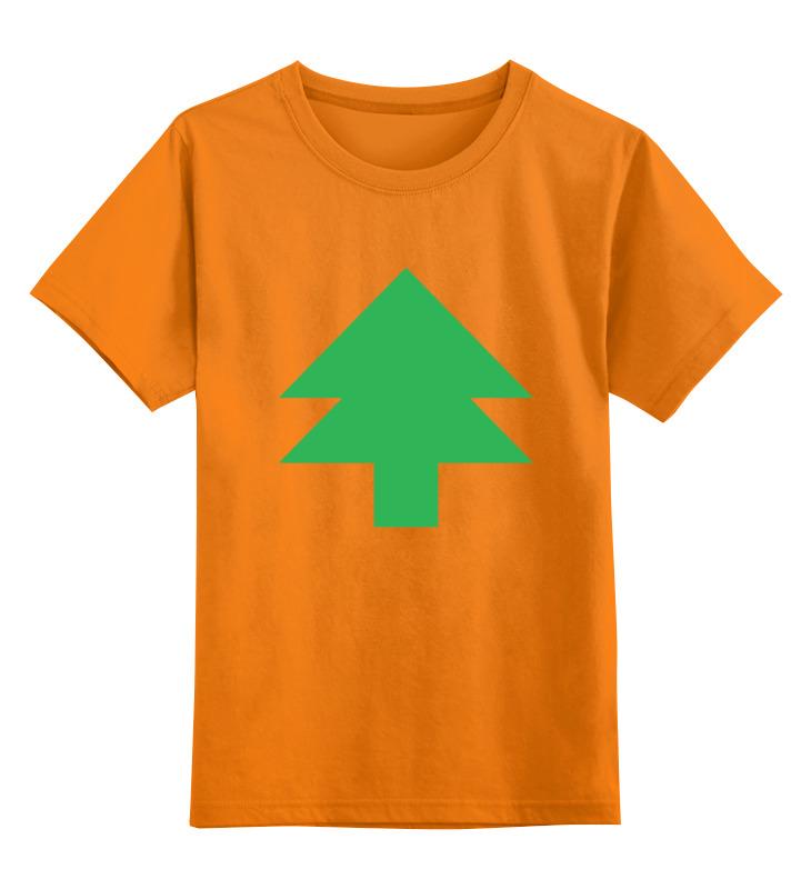 Детская футболка классическая унисекс Printio Ёлка танграм цена