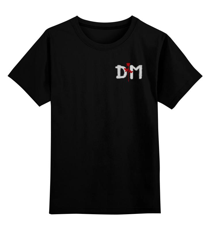 Детская футболка классическая унисекс Printio Depeche mode детская футболка классическая унисекс printio мотобайк