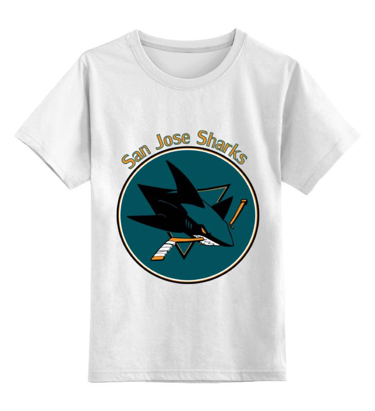 Детская футболка классическая унисекс Printio San jose sharks трусы jose kids