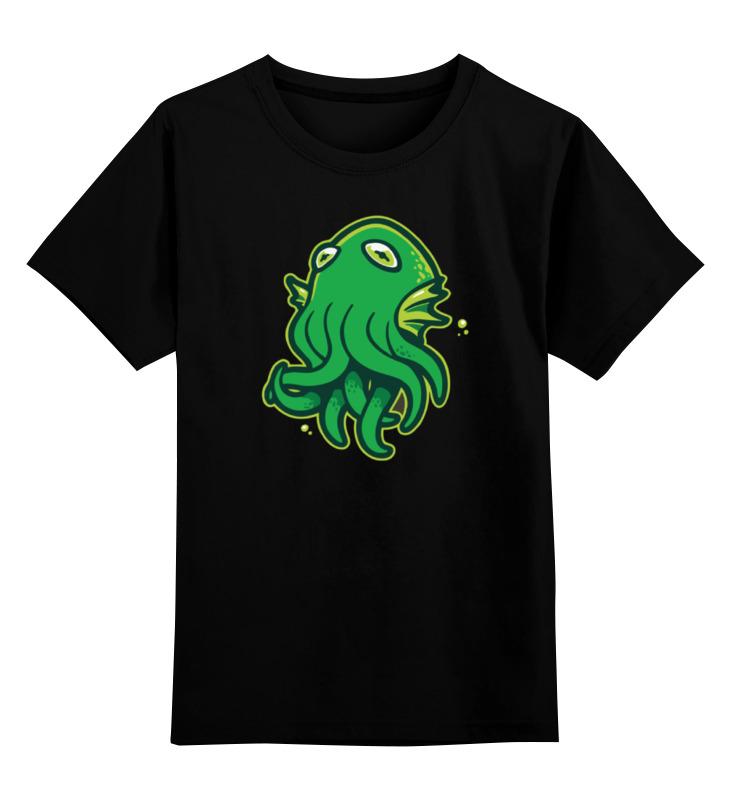 Детская футболка классическая унисекс Printio Octopus / осьминог футболка классическая printio octopus vs shark