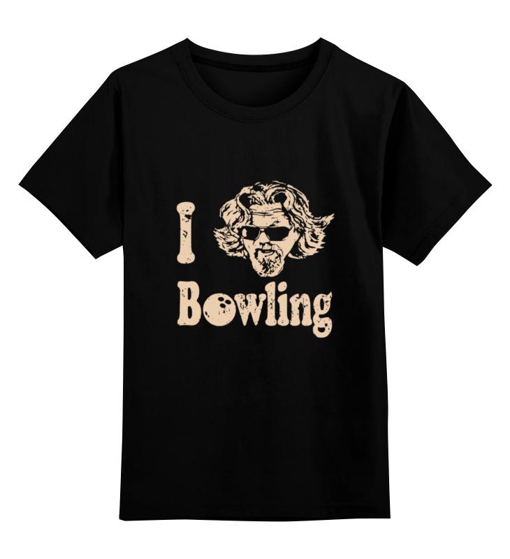 Детская футболка классическая унисекс Printio Love bowling футболка детская picture organic love basic tee blue