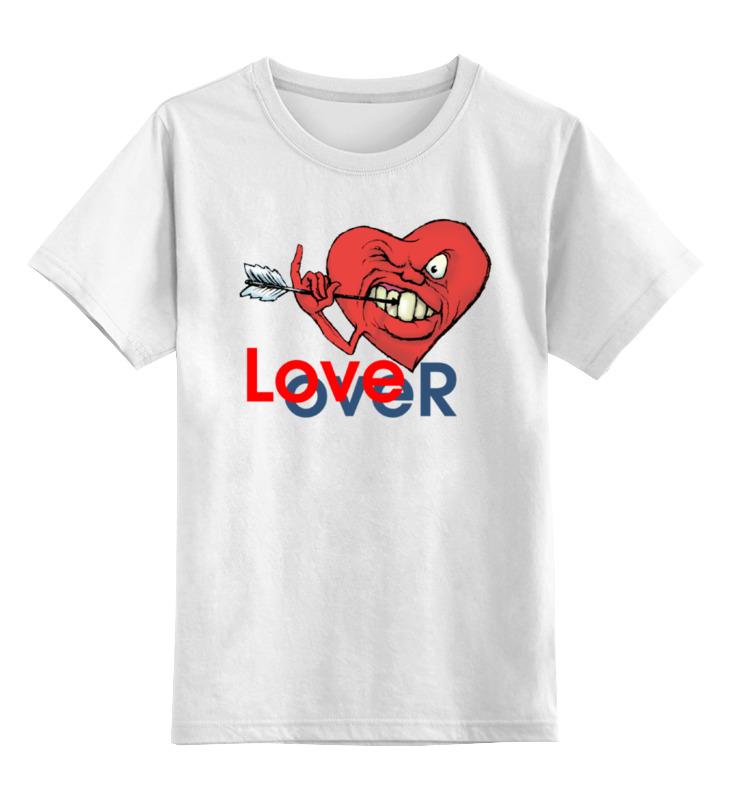 Фото - Детская футболка классическая унисекс Printio Любовь окончена детская футболка классическая унисекс printio любовь окончена
