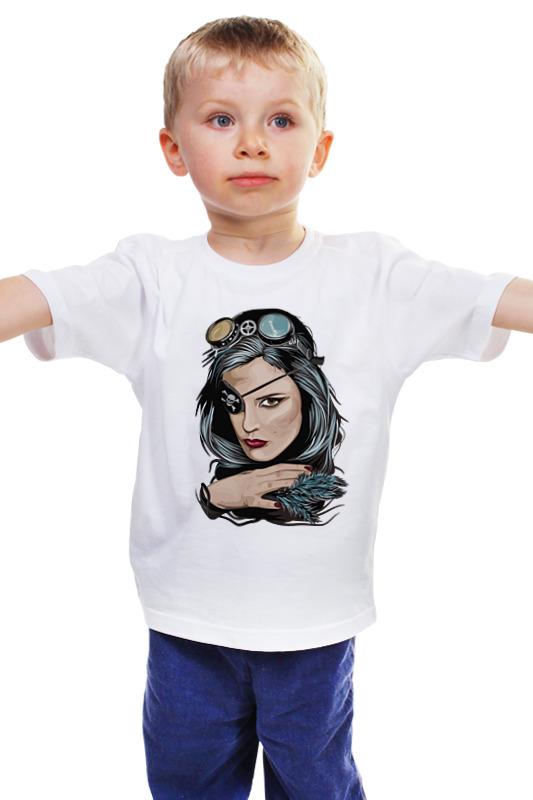 Детская футболка классическая унисекс Printio Пиратка (steampunk) детская футболка классическая унисекс printio пиратка
