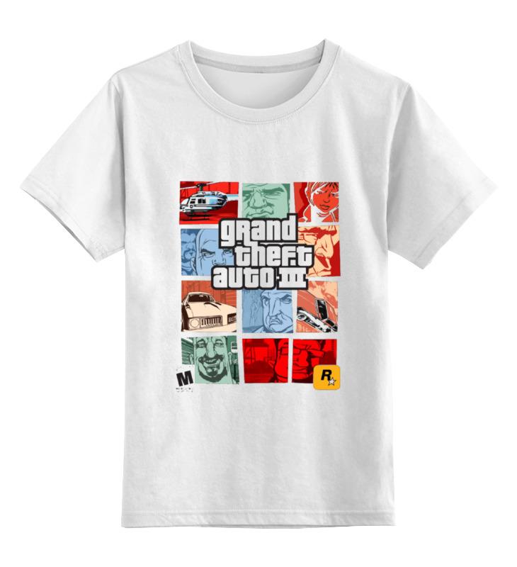 Детская футболка классическая унисекс Printio Gta 3