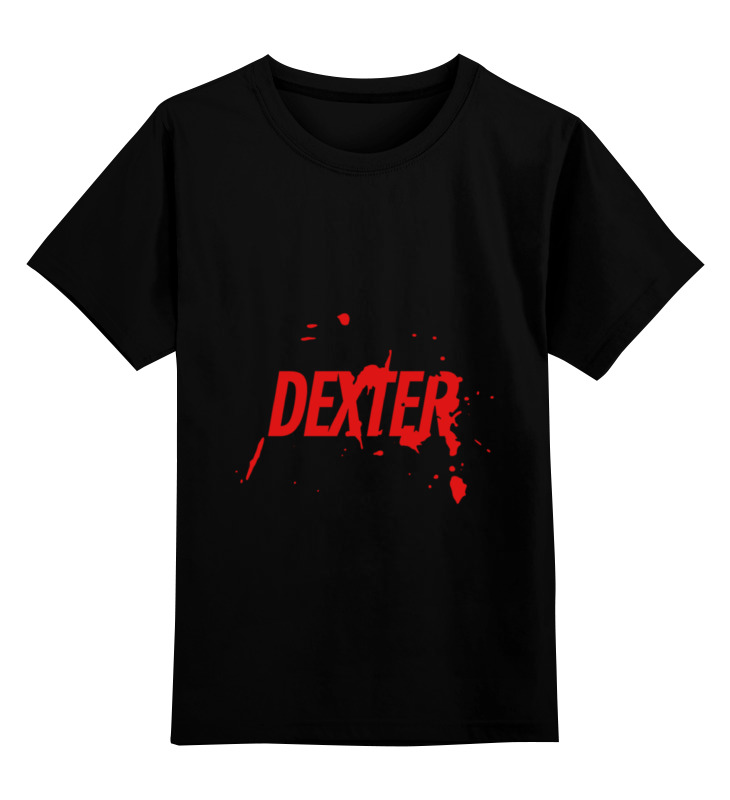 Детская футболка классическая унисекс Printio Dexter футболка print bar duck dexter