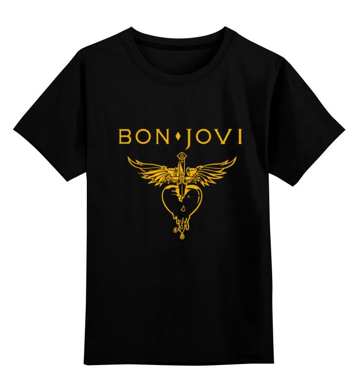 Детская футболка классическая унисекс Printio Bon jovi купить футбольную форму челси торрес