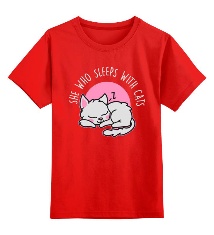 Printio Спящая кошка детская футболка классическая унисекс printio спящая собака