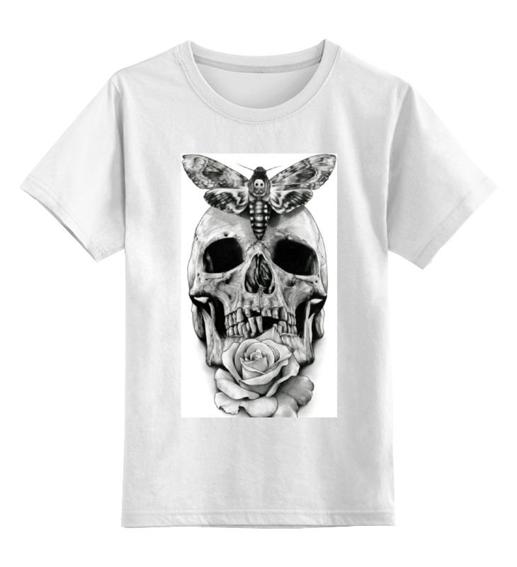 Детская футболка классическая унисекс Printio Skull - 10 детская футболка классическая унисекс printio skull game