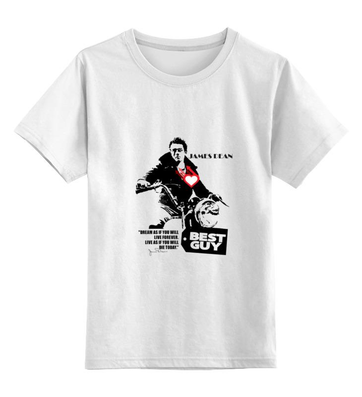 Детская футболка классическая унисекс Printio James dean джеймс дин этта джеймс etta james hickory dickory dock