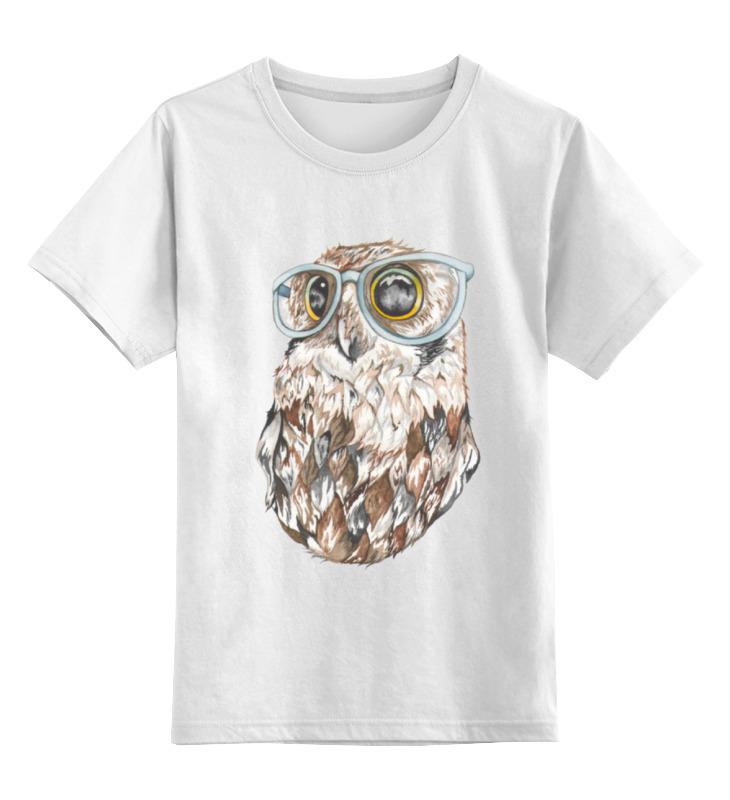 Детская футболка классическая унисекс Printio Совенок футболка классическая printio футболка совёнок