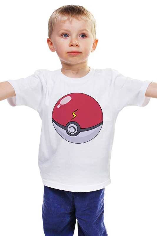 Детская футболка классическая унисекс Printio Покебол детская футболка классическая унисекс printio мачете