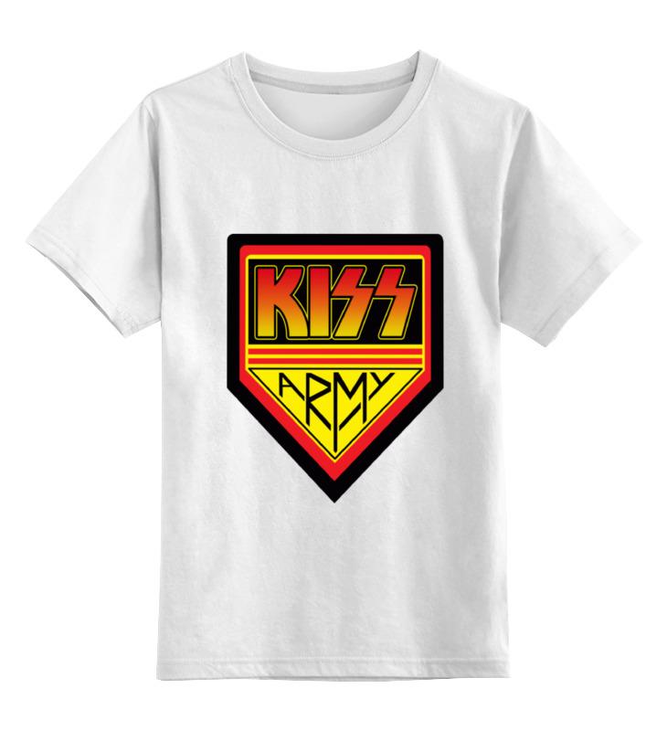 Детская футболка классическая унисекс Printio Kiss army симфоническое рок шоу rockestralive