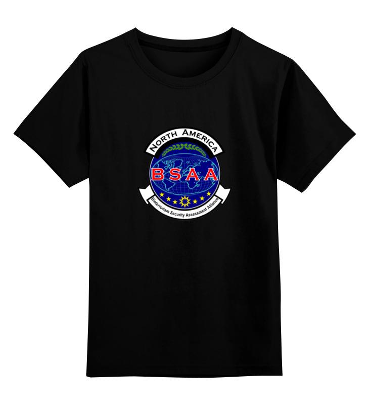 Детская футболка классическая унисекс Printio Resident evil. bsaa детская футболка классическая унисекс printio resident evil 6