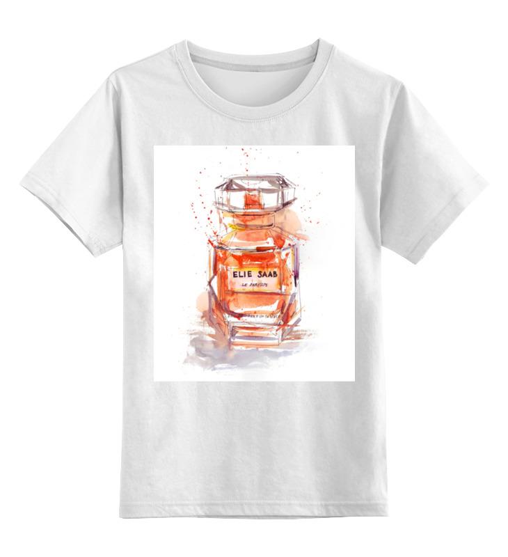 Детская футболка классическая унисекс Printio Elie saab perfume цена и фото