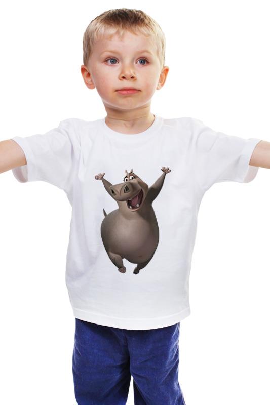 Детская футболка классическая унисекс Printio Глория