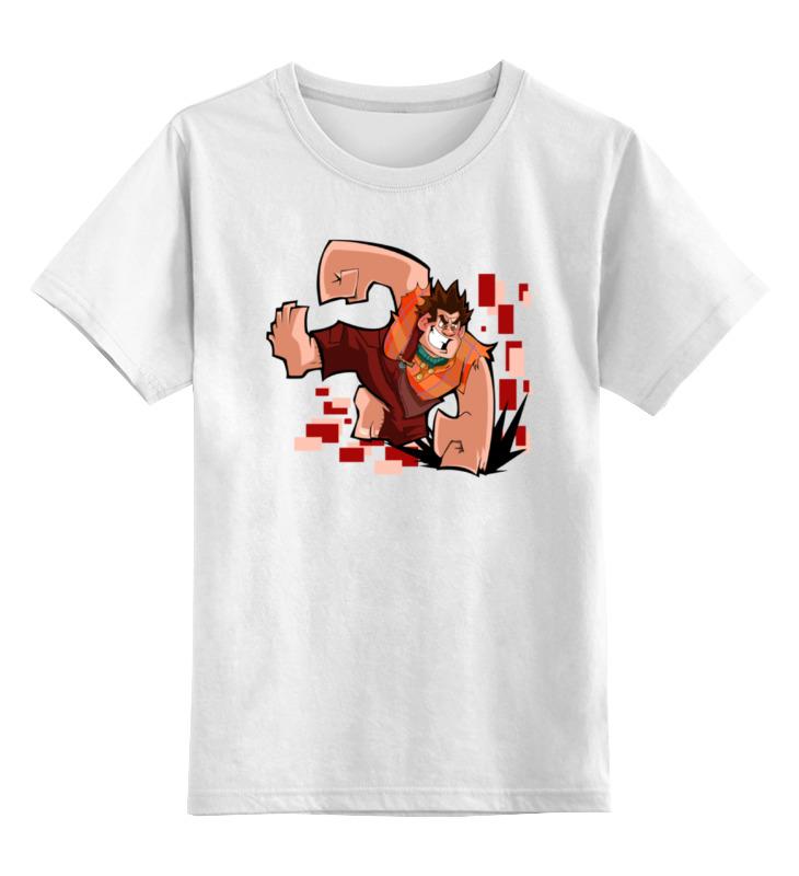 Детская футболка классическая унисекс Printio Ральф кентавр 2000 ральф 7 08 правый малиновый белый
