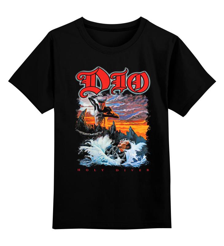 где купить Детская футболка классическая унисекс Printio Ronnie james dio по лучшей цене