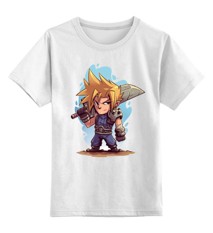Детская футболка классическая унисекс Printio Воин с мечом