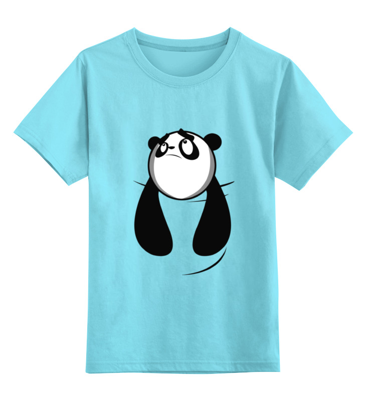 цена Детская футболка классическая унисекс Printio Панда (panda) онлайн в 2017 году