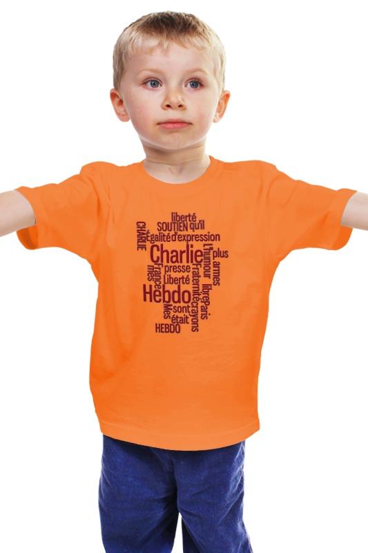 Детская футболка классическая унисекс Printio Charlie hebdo