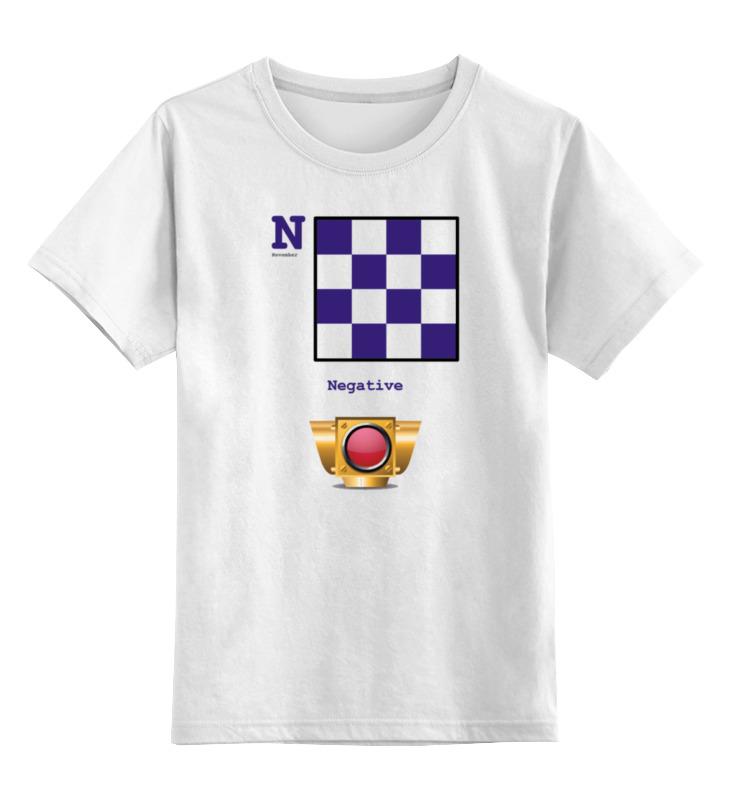 Детская футболка классическая унисекс Printio November (n), флаг мсс (eng) for girl лонгслив printio november n флаг мсс eng for girl