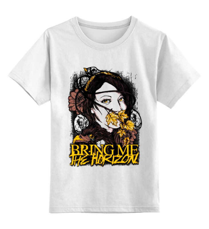 Детская футболка классическая унисекс Printio Bring me the horizon army of me футболка