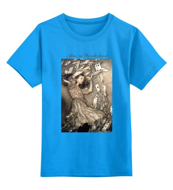 Детская футболка классическая унисекс Printio Alice in wonderland лонгслив printio alice in wonderland