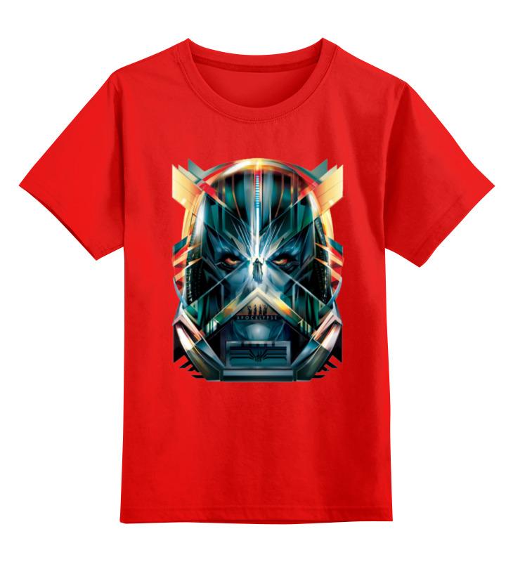 Детская футболка классическая унисекс Printio Галактика