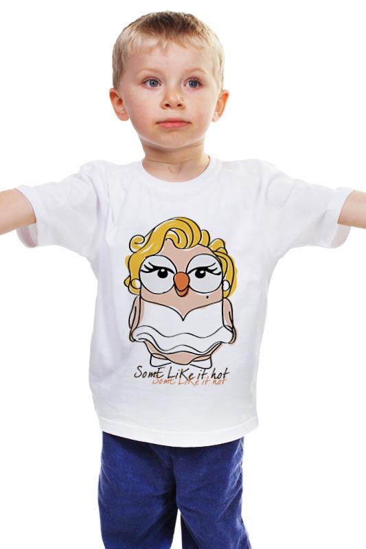 Детская футболка классическая унисекс Printio Сова мэрилин монро суперсова goofi футболка классическая printio сова мэрилин монро суперсова goofi