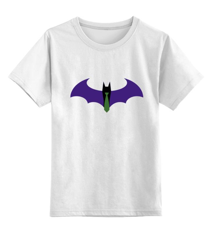 Детская футболка классическая унисекс Printio Batman x joker лонгслив printio batman x joker