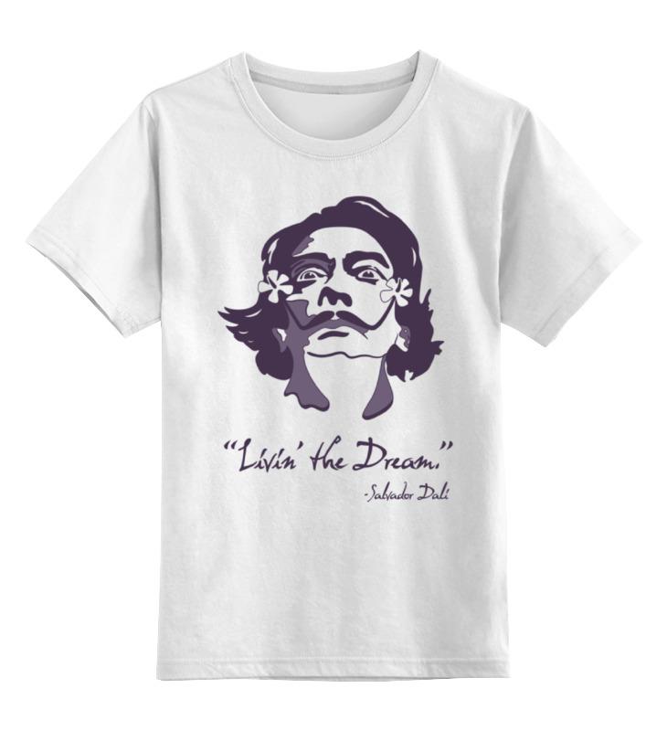 Детская футболка классическая унисекс Printio Сальвадор дали рока к м сальвадор дали
