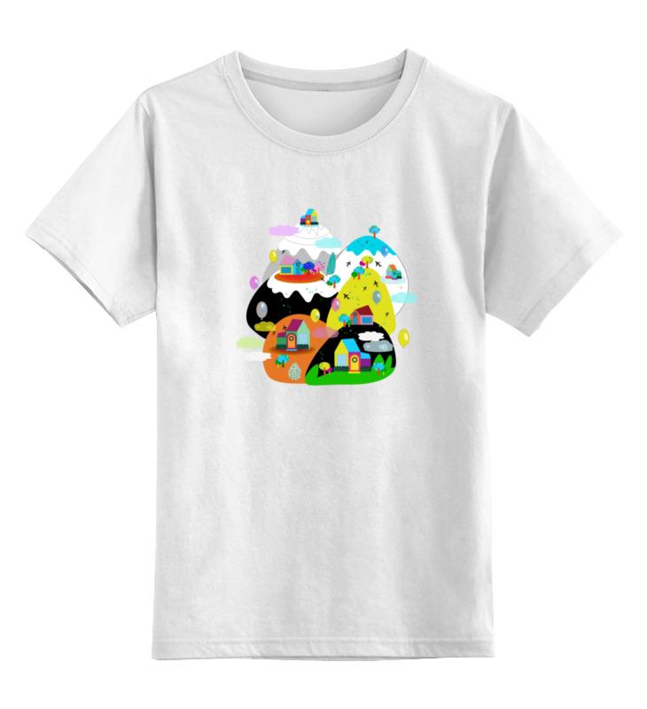 Детская футболка классическая унисекс Printio Облачный город детская футболка классическая унисекс printio мотобайк