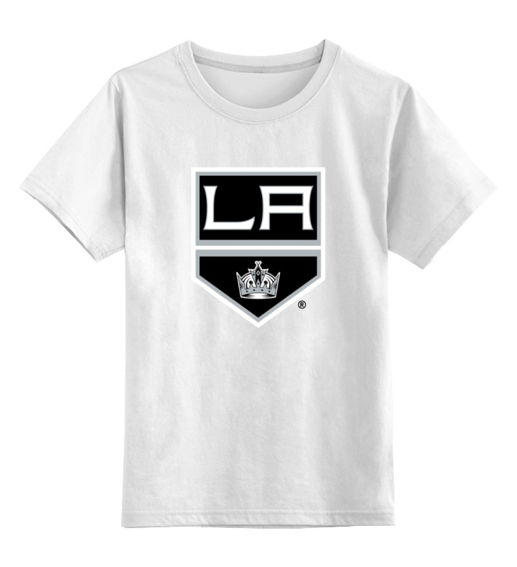 Детская футболка классическая унисекс Printio Los angeles kings / nhl usa футболка wearcraft premium slim fit printio los angeles kings nhl usa
