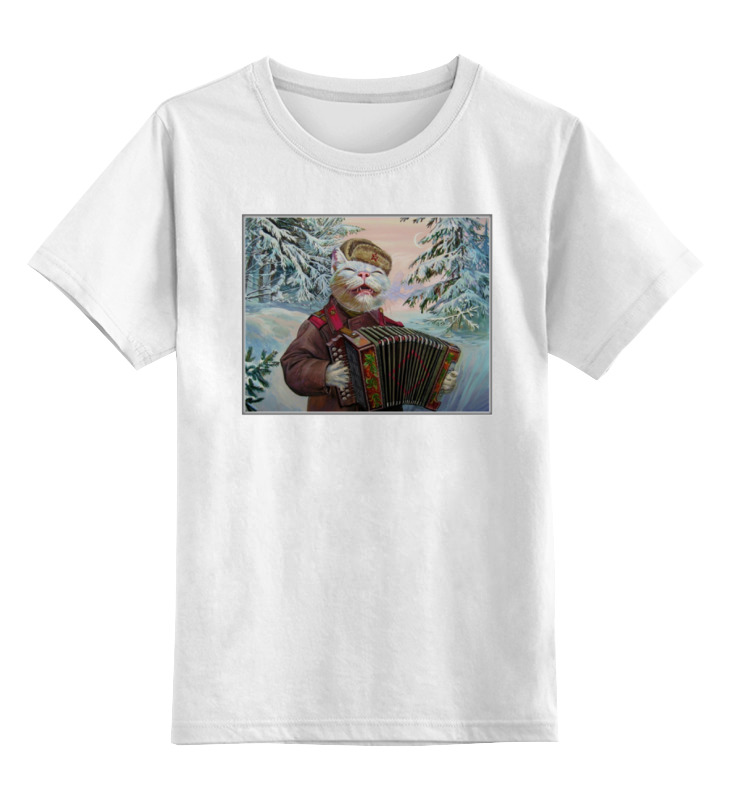 Детская футболка классическая унисекс Printio Animal art детская футболка классическая унисекс printio animal